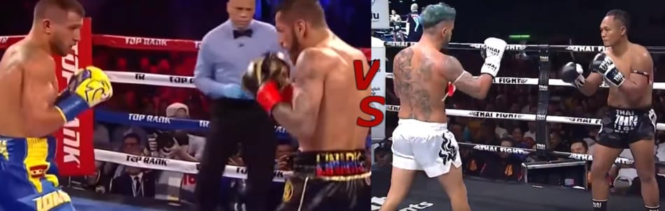 boxing muay thai difference